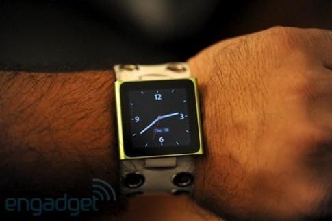 Apple từng thử nghiệm iPod làm đồng hồ thông minh