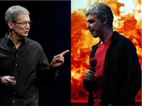 Apple và Google: Cuộc chiến giờ đã đổi thay