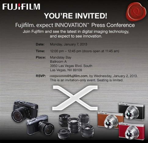 Bản nâng cấp Fujifilm X100 có thể ra mắt 7/1 tới