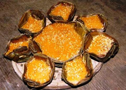 Bánh tổ trong ngày Tết của người Quảng