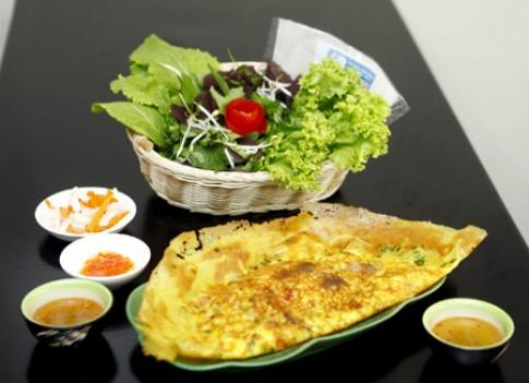 Bánh xèo Sài Gòn chính gốc tại Hà Nội
