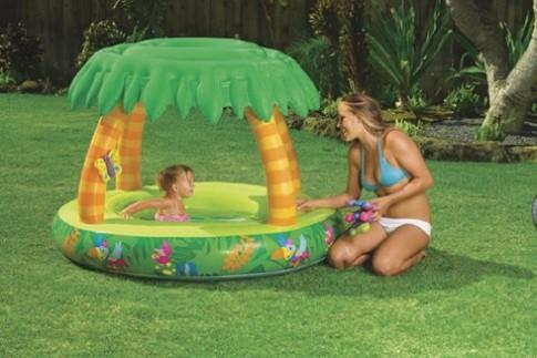 Bể bơi mini cho bé yêu đón hè