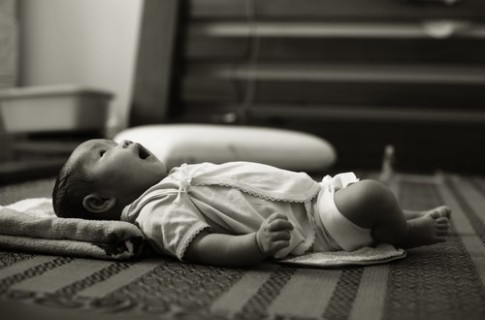 Bé Copi - người mẫu 2 tháng tuổi