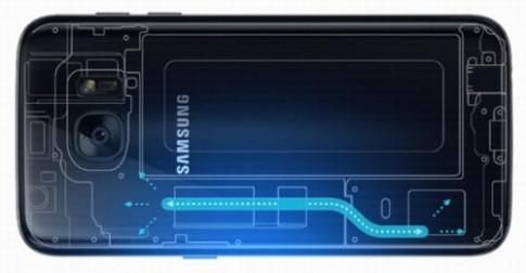 Bên trong bộ phận làm mát của Galaxy S7/S7 edge có gì?