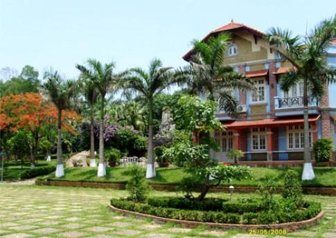 Biệt thự nhà vườn Hòa Lạc