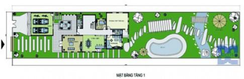 Biệt thự nhà vườn rộng 900 m2