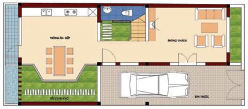 Biệt thự nhỏ 110 m2