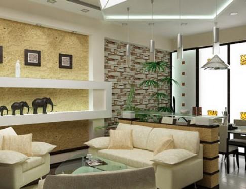 Bình phong trong kiến trúc nội thất