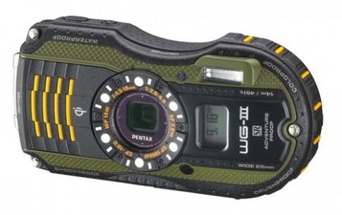 Bộ ba máy ảnh chống va đập, chống nước của Pentax