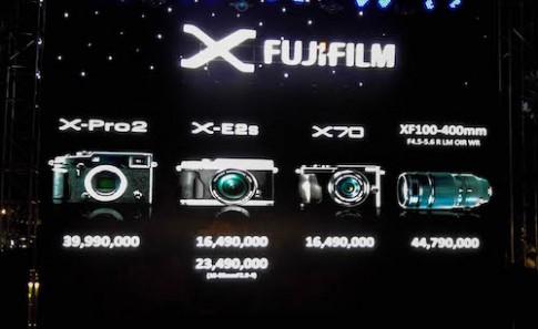 Bộ ba máy ảnh X Series của Fujifilm về Việt Nam
