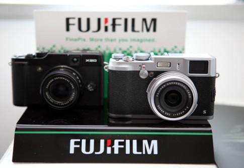 Bộ đôi máy ảnh Fujifilm X100s và X20 xuất hiện tại Việt Nam