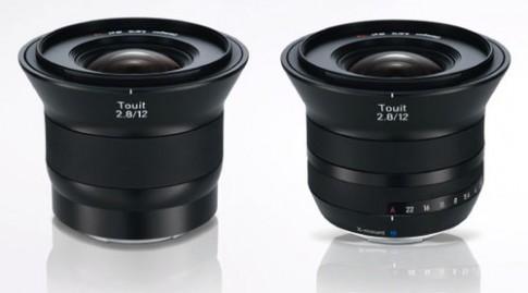 Bộ đôi ống kính Carl Zeiss mới cho máy ảnh mirrorless