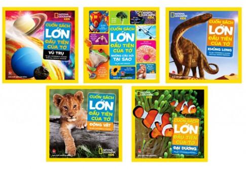 Bộ sách giúp bé khám phá tự nhiên