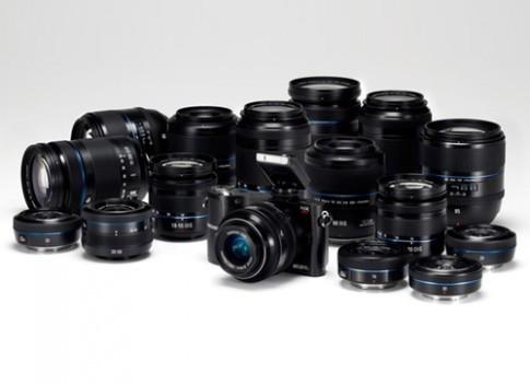 Bộ sưu tập 12 ống kính cho dòng máy NX của Samsung