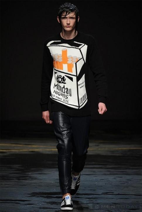 Bộ sưu tập thời trang nam thu đông 2014 của Christopher Shannon | LCM