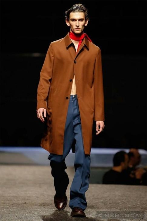Bộ sưu tập thời trang nam thu đông 2014 của Prada | MFW