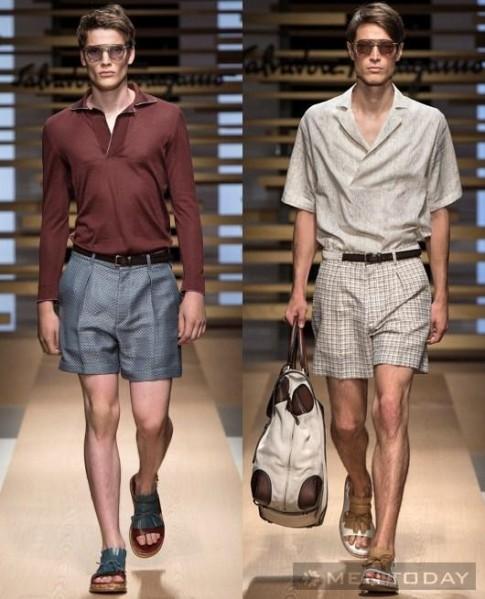 Bộ sưu tập thời trang nam xuân hè 2015 của Salvatore Ferragamo