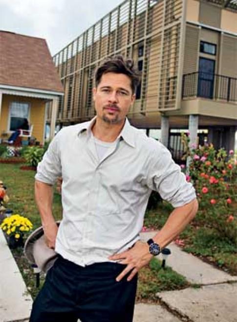 Brad Pitt và khu nhà ở New Orleans