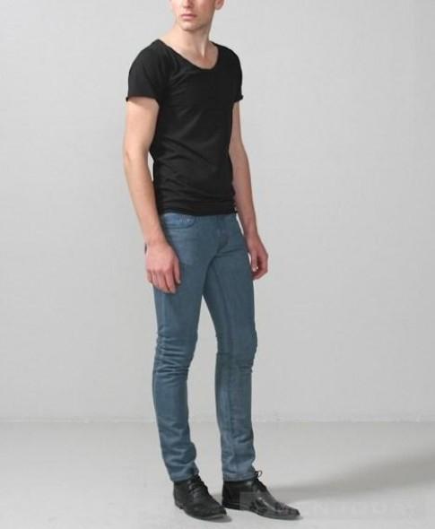 BST quần skinny jeans nam Xuân hè 2013 từ Won Hundred