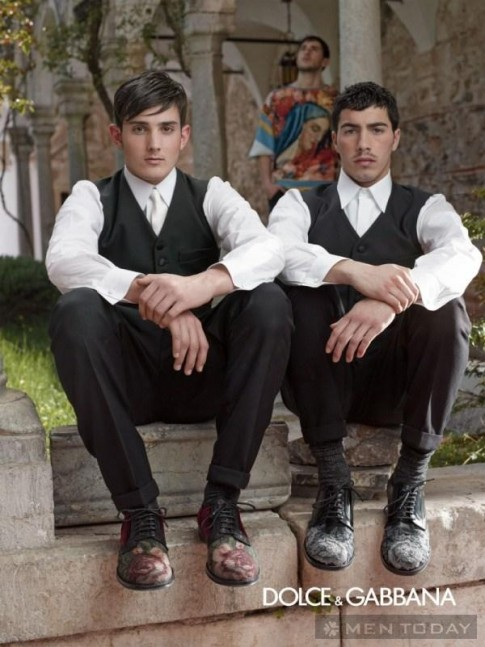 BST thời trang nam thu đông 2013 từ Dolce