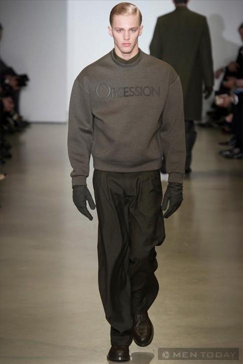 BST thời trang nam thu đông 2014 của Calvin Klein   MFW