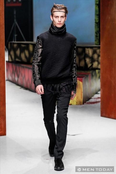 BST thời trang nam thu đông 2014 của Roberto Cavalli | MFW