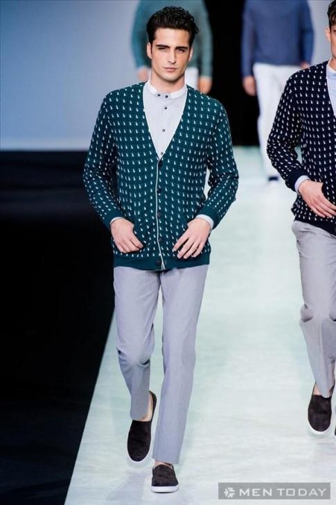 BST thời trang nam xuân hè 2014 từ Giorgio Armani (P2)
