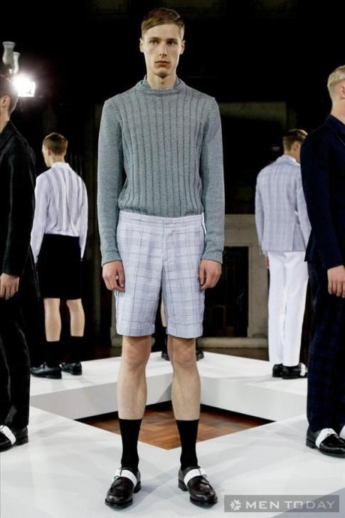 BST thời trang nam xuân hè 2014 từ Pringle of Scotland