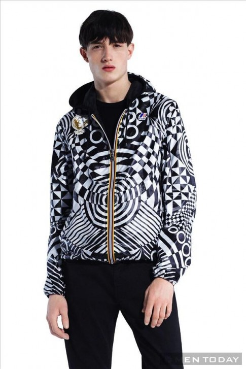 BST thời trang từ sự kết hợp giữa Versus Versace và K-Way