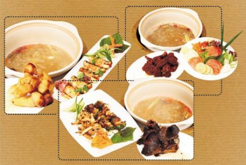 Bữa ăn hoàn chỉnh tại Ashima