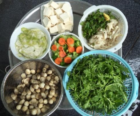 Bữa chay thanh đạm giàu dinh dưỡng