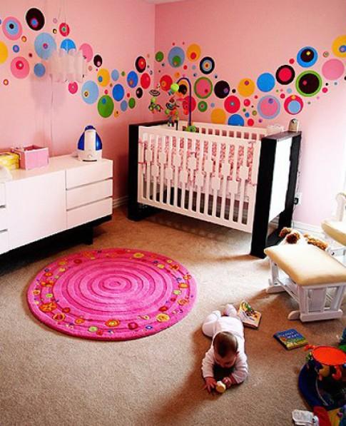 Bức tường đáng yêu trong phòng bé
