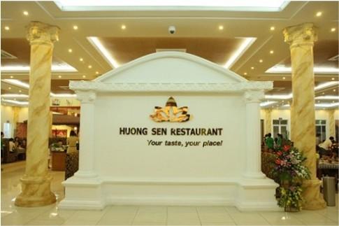 Buffet hải sản tại nhà hàng Hương Sen