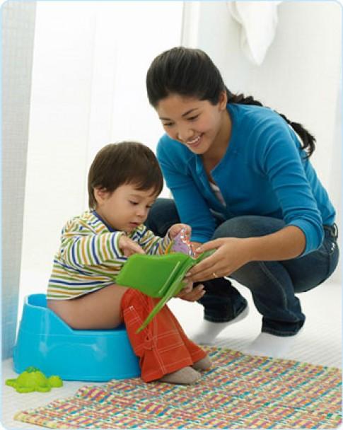 Các cách giúp bé tự đi vệ sinh