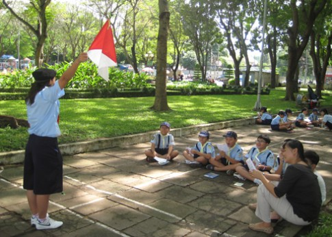 Các điểm chơi mà học ngày hè cho trẻ Sài Gòn