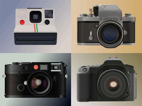Các thương hiệu máy ảnh đã phát triển thế nào sau hơn 100 năm!!?