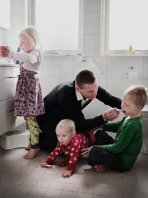 Cách dạy con không đòn roi của người Thụy Điển