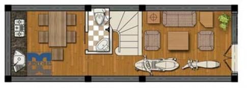 Cải tạo nhà 3 tầng 27 m2