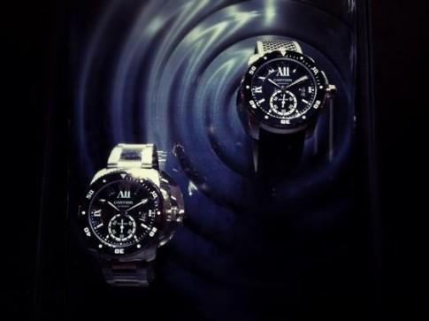 Calibre de Cartier: Đồng hồ lặn biển cho các chàng