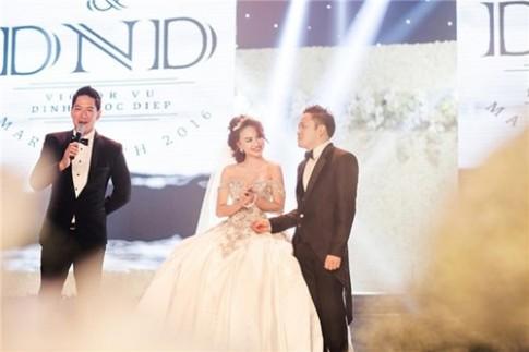 Cận cảnh 3 bộ váy cưới đẹp mê hồn của Đinh Ngọc Diệp