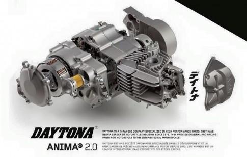 Cận cảnh bộ máy Daytona Anima 190cc cho Wave Dream