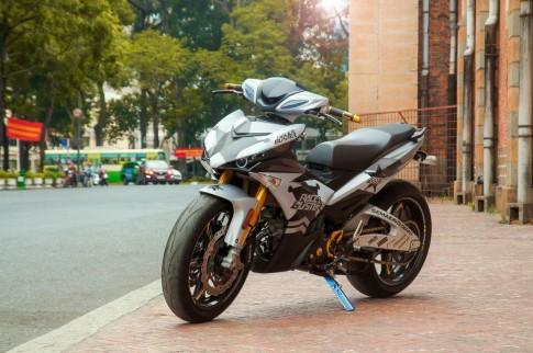 Cận cảnh Exciter 135 độ khủng của biker Sài Gòn