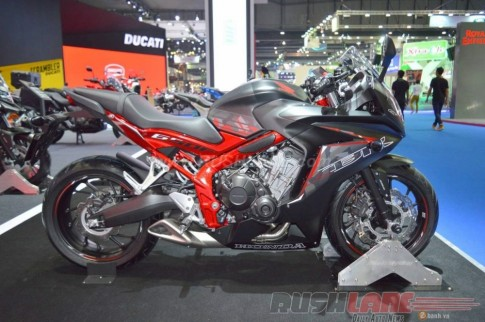 Cận cảnh Honda CBR650F phiên bản đặc biệt tại Bangkok Motor Show 2016