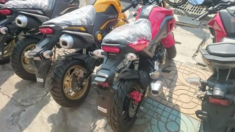 Cận cảnh Honda MSX 125 2016 tại Đại Lý
