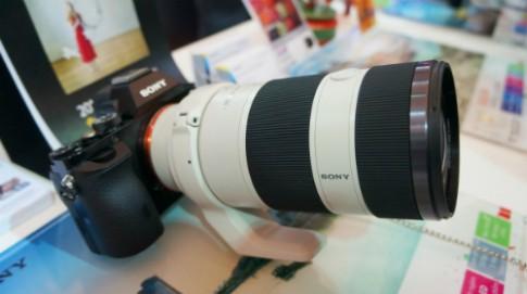 Cận cảnh một số máy ảnh lạ của Sony