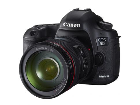 Canon 5D Mark III có thể quay video không nén