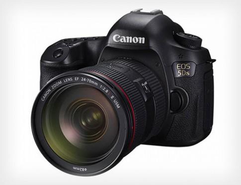 Canon 5Ds cảm biến full-frame 50,6 megapixel lộ diện