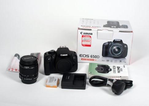 Canon 650D hàng xách tay tại VN