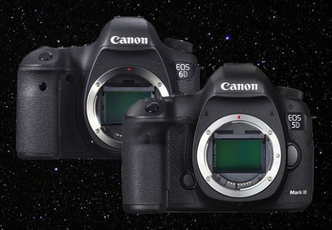 Canon 6D thắng 5D Mark III khi phơi sáng lâu với ISO cao