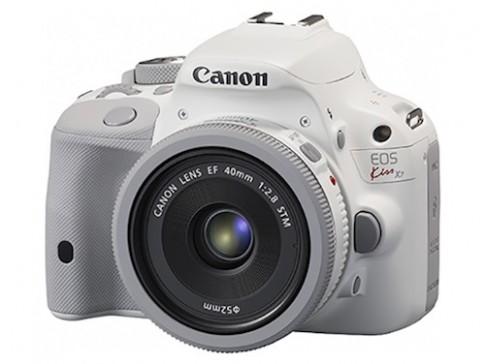 Canon bổ sung màu trắng cho máy ảnh DSLR nhỏ gọn nhất